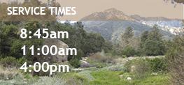 SBCC Service Times